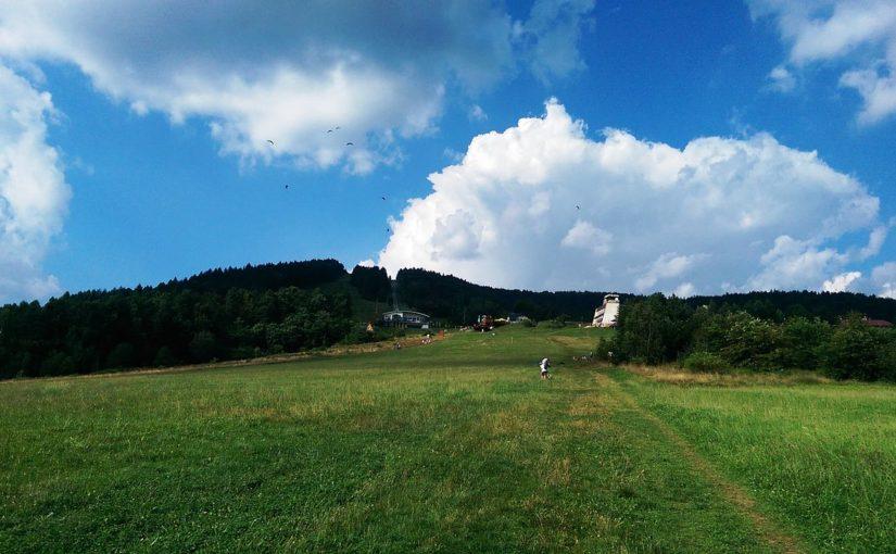 Góra Żar loty tandemowe